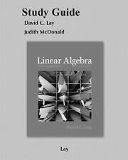Study Guide. Linear Algebra and Its Applications. 4th edition. Lay