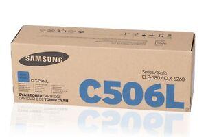 PL Neu Samsung CLT-C506L CLTC506L Toner Cyan B