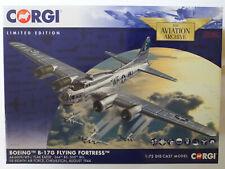 Corgi 1/72 Boeing B17 Flying Fortress Flak Eater Chelveston 1944 AA33318 Ltd Nuevo