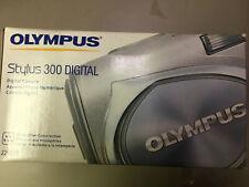 Olympus stylus300 digital camera brand new silver