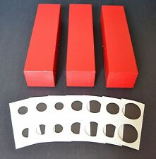 300 2x2 ASSORTED CARDBOARD MYLAR COIN HOLDERS + 3 BOXES YOU CHOOSE SIZES!! NEW!