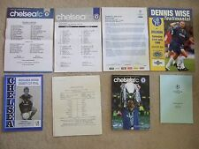 chelsea v kingsbury 10/10/89 middlesex charity cup final at stamford bridge