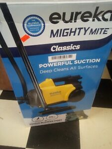 Brand New Eureka Mighty Mite Corded Canister Vacuum Cleaner - Yellow