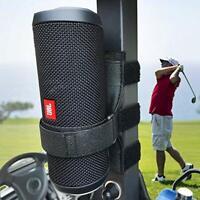 Adjustable Strap Portable Bluetooth Speaker Mount Holder For Golf Cart Railing