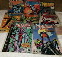 DC Comics MANHUNTER lot of 8 issues (1988 -1989)