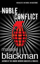 """""""VERY GOOD"""" Blackman, Malorie, Noble Conflict, Book"""