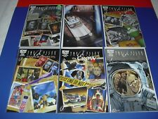 Lot of 6 IDW X-Files Conspiracy Comics 1 & 2 + Ghostbusters TMNT Crow! 2014 072