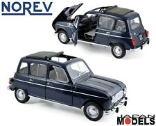 RENAULT 4 COPENHAGUE BLUE 1965 Norev 185241 Die Cast 1/18 New Nuovo