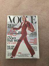 Vogue Magazine August 2000 Carmen Kass