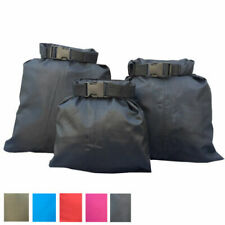 3 Pcs Waterproof Dry Bags Outdoor Swimming Kayaking Drifting Pouch Storage Sacks