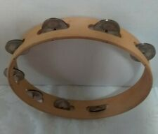 """OFFICIAL preowned  KENNY ROGERS TAMBOURINE 9 7/8"""" Not Signed!"""