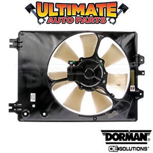 (Passenger Side) A/C Condenser Cooling Fan (3.7L V6) for 07-09 Acura MDX