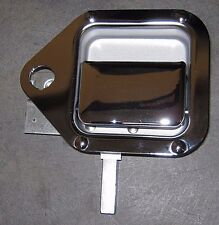 BRAND NEW OEM KENWORTH T600 OUTSIDE RIGHT TOOL COMPARTMENT CHROME DOOR HANDLE