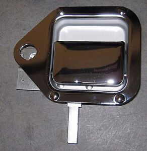 BRAND NEW OEM KENWORTH T600 & W900L OUTSIDE RIGHT TOOL BOX CHROME DOOR HANDLE