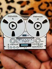 Pioneer RT-909 Vintage Reel R2R Enamel 2 Inch Pin