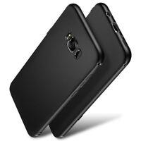 Samsung GALAXY Note 8 Thin Rubber Gel Silicone Hybrid Hard TPU Case Cover Black