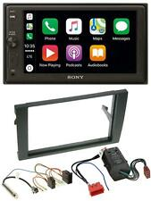 Sony USB AUX 2DIN MP3 Bluetooth Autoradio für Audi A4 B6 B7 00-08 Bose Aktivsyst