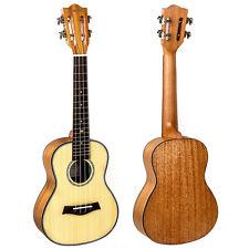 Kmise Classical Concert Ukulele Solid Spruce Mahogany 23 Ukelele Hawaii Guitar