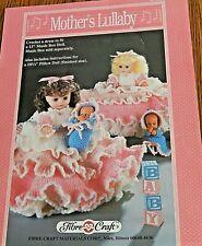 """Crochet Motif Fibre Loisirs Créatifs de Mère Berceuse Robe Pour 13 """" Music Boîte"""