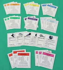 Star Wars Saga Edition Monopoly Replacement Galactic Title Deed Property Cards