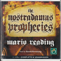 The Nostradamus Prophecies Mario Reading 11CD Audio Book Unabridged Historical