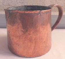 pot doseur cuivre 18-19ème copper pot