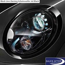 Original MINI R55 R56 R57 R58 R59 Blackline Zierring Scheinwerfer Zierringe