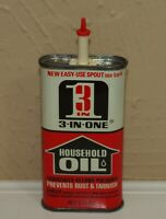 Vintage 3 IN ONE HOUSEHOLD OIL Advertising 3 oz Tin BOYLE MIDWAY New York NY