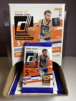 NBA 2020-21 Panini Donruss- (1) 5 Card Gravity Pack- 1 YELLOW PARALLEL PER PACK!