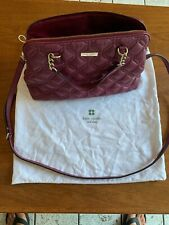 Kate Spade New York Quilted Leather Shoulder Bag W/ Optional Pruse Handles