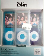 iSkin Touch Duo for iPod Nano 4G - Chill Pack