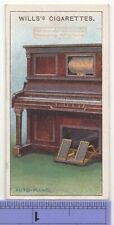 Player Piano Pneumatic Keyboard Invention 1915 Ad Trade Card 23