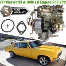 Rochester Style 1 Barrel Carburetor FOR 1966-1988 Chevry GMC L6 6CYL 250 292 US