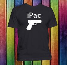iPack iPod parody funny gun right 2nd amendment custom handmade t-shirt.