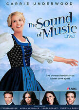 The Sound of Music Live (DVD, 2013)