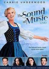 The SOUND OF MUSIC LIVE! / Carrie Underwood - Sealed DVD (2013)