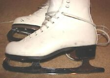 Ice Figure Skates Riedell 137 Medallion Basic 1-6 Mk blades Women Girls Size 5 M