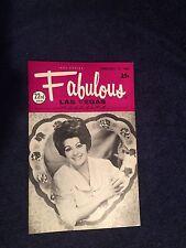 Fabulous Las Vegas Magazine Line Renaud Theresa Merola Eddie Fisher 2/15/1969