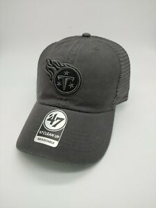 Tennessee Titans '47 Brand clean up adjustable Snapback Hat Cap trucker new nwt