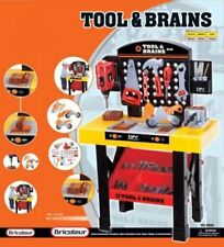 Children Tool Work Bench And Tools Toy With Hammer Drill Screwdriver
