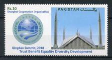 Pakistan 2018 MNH Shanghai Cooperation Organization Qingdao Summit 1v Set Stamps