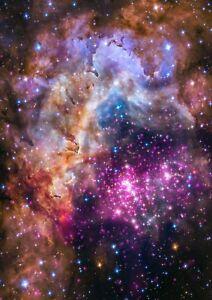 SPACE POSTERS: Hubble Galaxy Universe Photograph Prints - A1, A2, A3, A4 Sizes