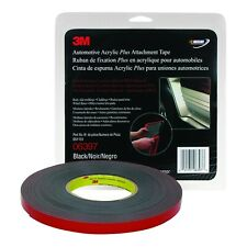 3M 06397 Automotive Acrylic Plus 60 mil Black Attachment Tape (1/2 in. X 10 yd.)
