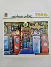 MasterPieces Wheels Collection Classic Gas Pump 750 Piece Jigsaw Puzzle Missing