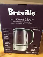 BREVILLE BKE595XL THE CRISTAL CLEAR 1800W GLASS KETTLE