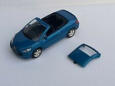 Norev 3 inches 1/60. Peugeot 307 Cc bleue   Neuf en boite