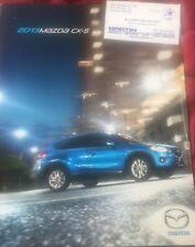 2013 Mazda CX-5 Brochure
