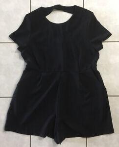 Supre Short Sleeve Jumpsuit - Size 16 - Excellent Condition