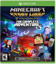 Minecraft: Story Mode Complete Adventure Xbox One New Xbox One, Xbox One