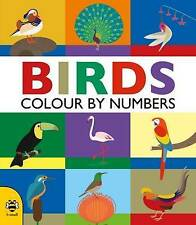 Colour By Numbers: Birds,Hutchinson, Sam,Excellent Book mon0000107822